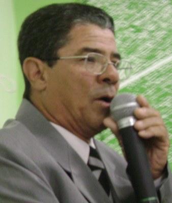 1º Presidente - Vereador Francisco Cardoso Guedes