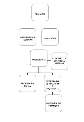 organograma Câmara Municipal